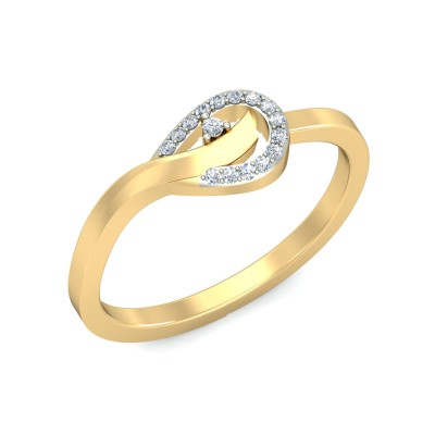 PATALA DIAMOND CASUAL RING in 18K Gold