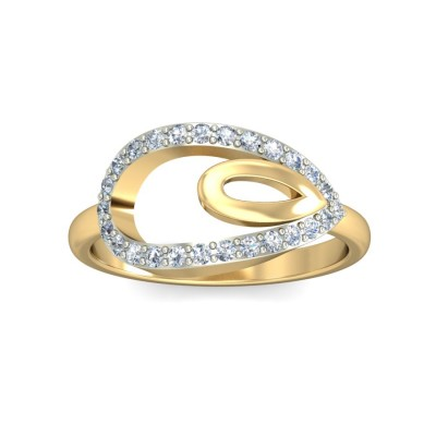CAUVERY DIAMOND CASUAL RING in 18K Gold