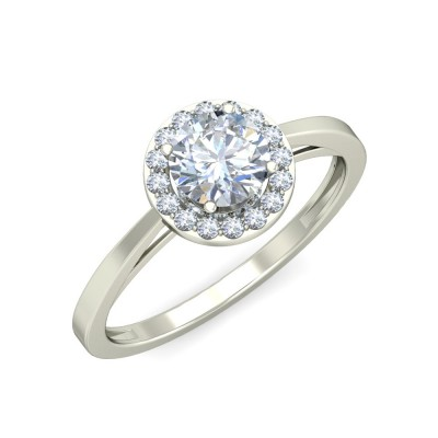 DRISTI DIAMOND COCKTAIL RING in 18K Gold