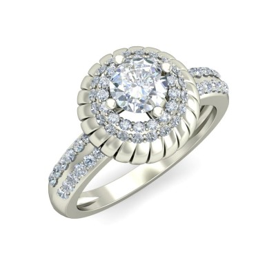 KOMALA DIAMOND COCKTAIL RING in 18K Gold