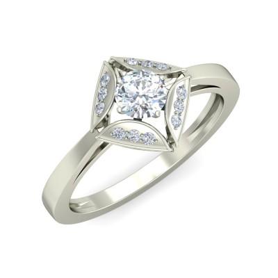 ASHU DIAMOND COCKTAIL RING in 18K Gold