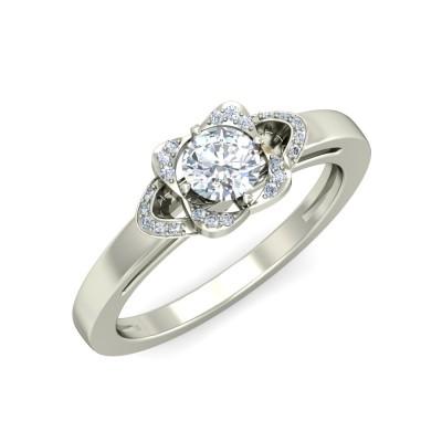 SAMRTA DIAMOND BANDS RING in 18K Gold