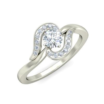 KAYA DIAMOND COCKTAIL RING in 18K Gold
