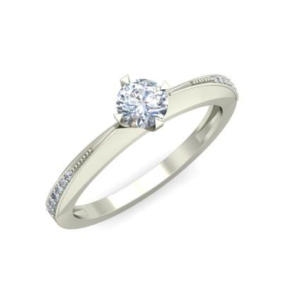 VIRINI DIAMOND CASUAL RING in 18K Gold