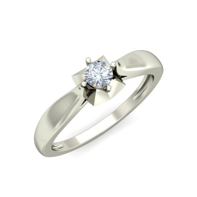 REIGN DIAMOND CASUAL RING in 18K Gold