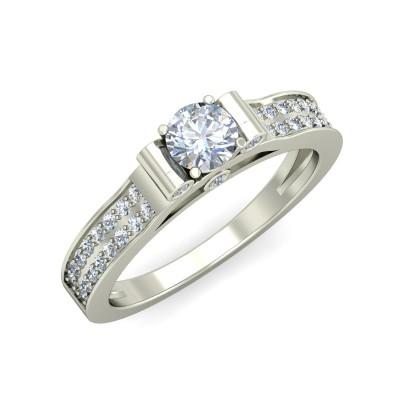 NIRAL DIAMOND CASUAL RING in 18K Gold