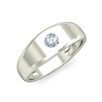 LEIA DIAMOND BANDS RING in 18K Gold