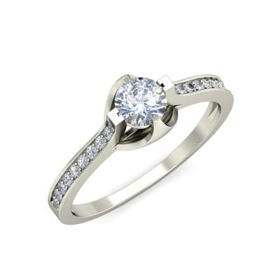 MARISA DIAMOND CASUAL RING in 18K Gold