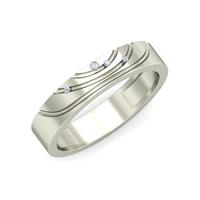 LILIAN DIAMOND BANDS RING in 18K Gold