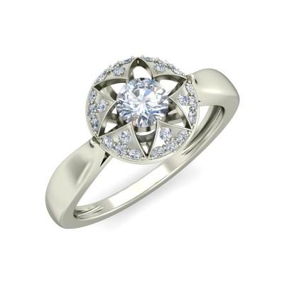 VARDA DIAMOND COCKTAIL RING in 18K Gold
