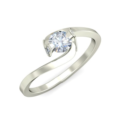 ROMI DIAMOND CASUAL RING in 18K Gold