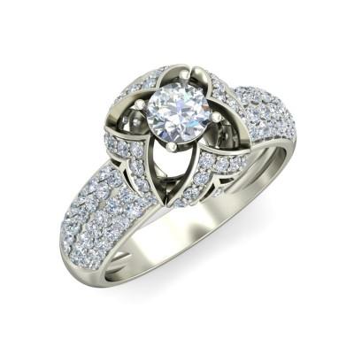SHIKHA DIAMOND COCKTAIL RING in 18K Gold