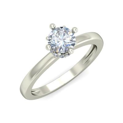 TRIPURI DIAMOND CASUAL RING in 18K Gold