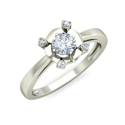 ADHIRA DIAMOND CASUAL RING in 18K Gold