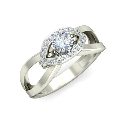 ALEX DIAMOND BANDS RING in 18K Gold