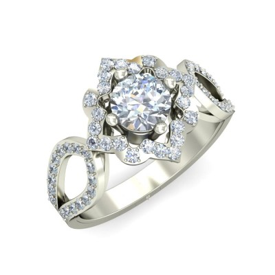 PARMITA DIAMOND COCKTAIL RING in 18K Gold