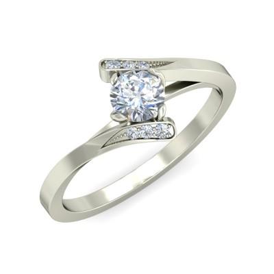 TARAI DIAMOND CASUAL RING in 18K Gold