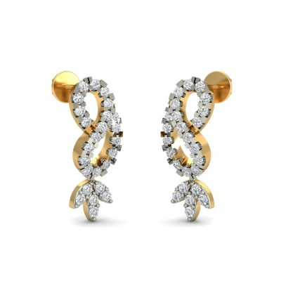 SUTARA DIAMOND STUDS EARRINGS in 18K Gold