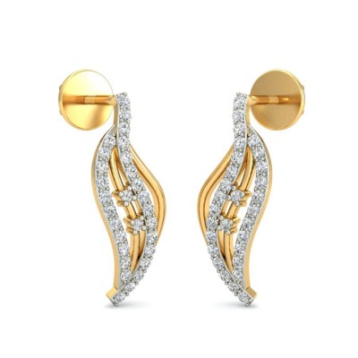 RAKSHA DIAMOND DROPS EARRINGS in 18K Gold