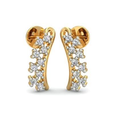 VIDHI DIAMOND STUDS EARRINGS in 18K Gold
