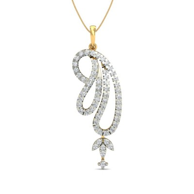 PADMA DIAMOND FASHION PENDANT in 18K Gold