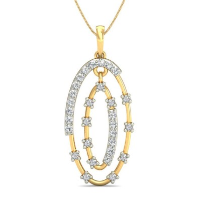 NIKITA DIAMOND FASHION PENDANT in 18K Gold