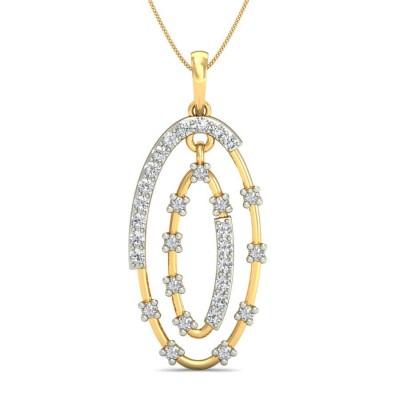NIKITA DIAMOND FASHION PENDANT in 18K Gold