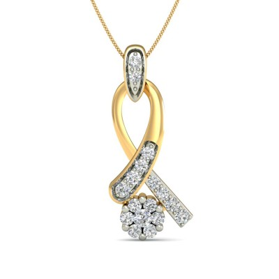 SHRAYA DIAMOND FASHION PENDANT in 18K Gold