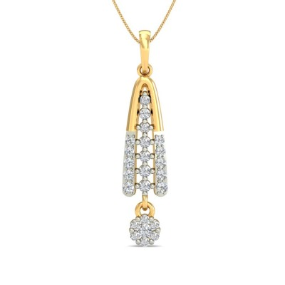 TUHINA DIAMOND FASHION PENDANT in 18K Gold
