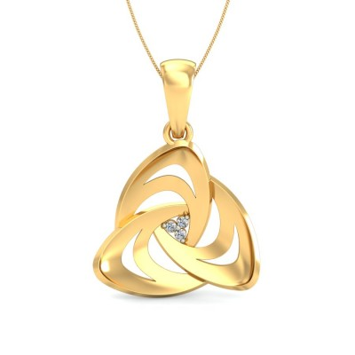ANA DIAMOND FASHION PENDANT in 18K Gold
