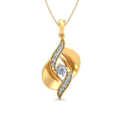 MADHURA DIAMOND FASHION PENDANT in 18K Gold