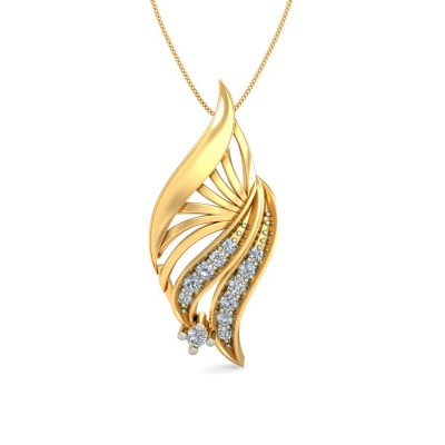 SARUPA DIAMOND FASHION PENDANT in 18K Gold