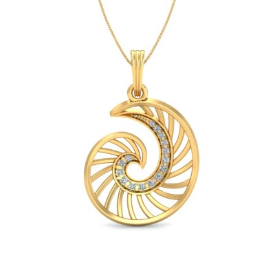 SHUSHMA DIAMOND FASHION PENDANT in 18K Gold
