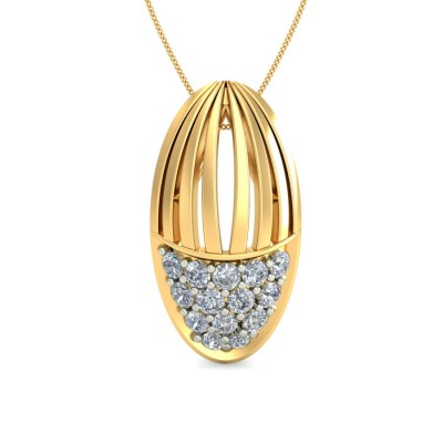 SATI DIAMOND FASHION PENDANT in 18K Gold