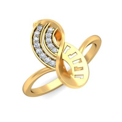 UDAYA DIAMOND CASUAL RING in 18K Gold