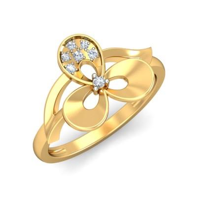 NOVA DIAMOND COCKTAIL RING in 18K Gold