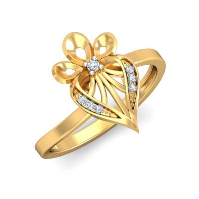 DEMIRA DIAMOND COCKTAIL RING in 18K Gold