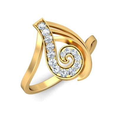 BHANU DIAMOND COCKTAIL RING in 18K Gold