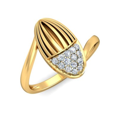 RAELYN DIAMOND COCKTAIL RING in 18K Gold