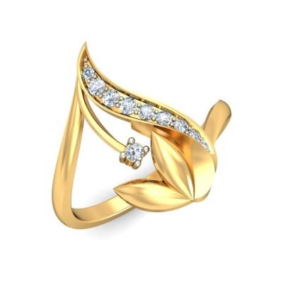 TRIPTI DIAMOND CASUAL RING in 18K Gold