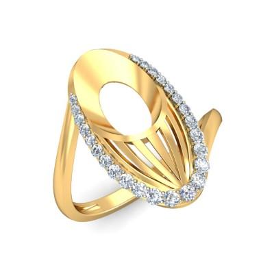 LELA DIAMOND COCKTAIL RING in 18K Gold