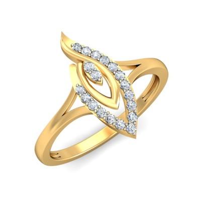MENA DIAMOND COCKTAIL RING in 18K Gold