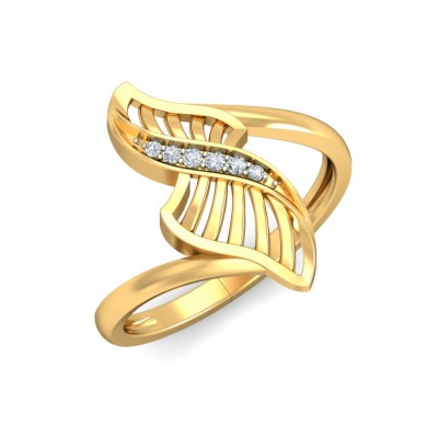 ZARIA DIAMOND COCKTAIL RING in 18K Gold