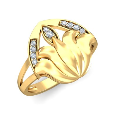 LIYAH DIAMOND COCKTAIL RING in 18K Gold