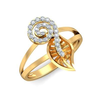 SUNITI DIAMOND COCKTAIL RING in 18K Gold